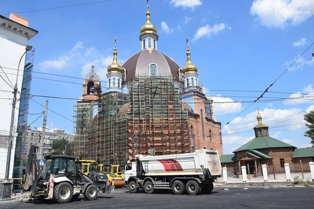 """""""Соскребли, как смогли"""". Как в Мариуполе центр города реконструируют, - ФОТОРЕПОРТАЖ, фото-31"""
