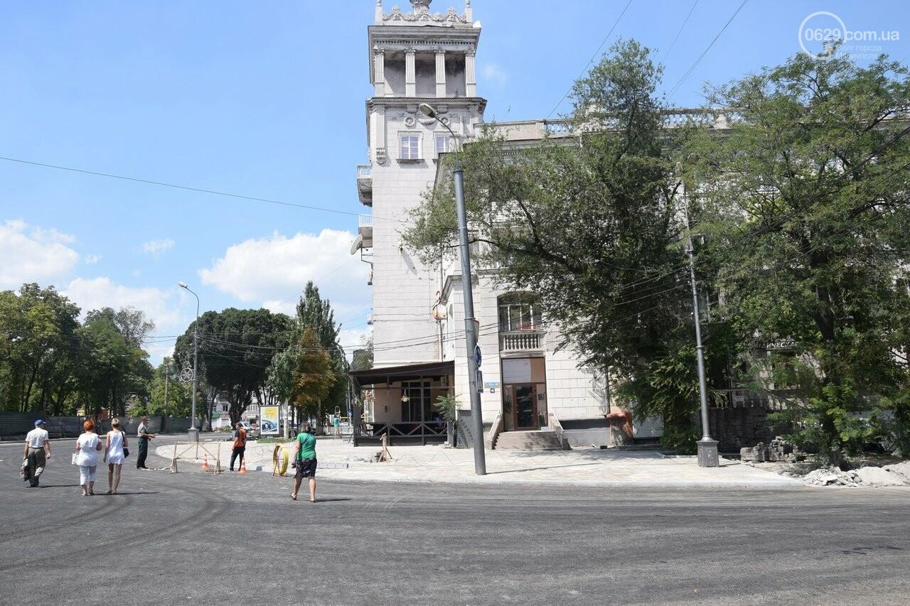 """""""Соскребли, как смогли"""". Как в Мариуполе центр города реконструируют, - ФОТОРЕПОРТАЖ, фото-20"""