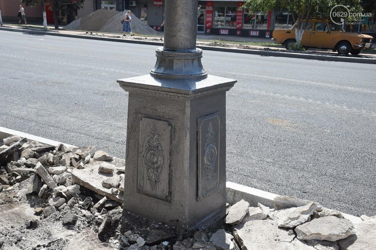 """""""Соскребли, как смогли"""". Как в Мариуполе центр города реконструируют, - ФОТОРЕПОРТАЖ, фото-16"""