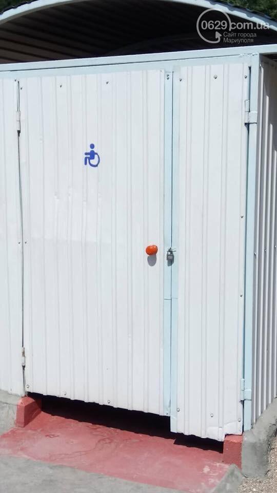 В Мариуполе удобства на пляже для  людей с инвалидностью  стали недоступными,- ФОТО , фото-1