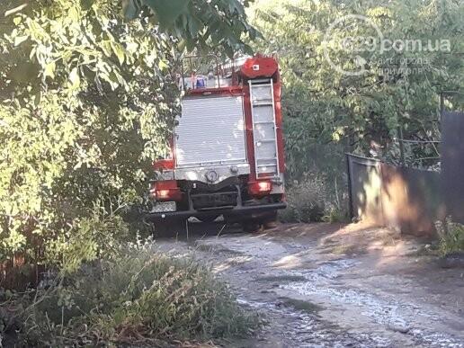 В Мариуполе сгорело 3 дачных участка, - ФОТОФАКТ, фото-1
