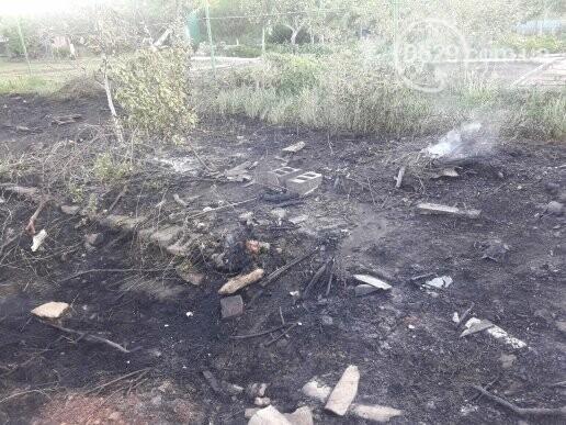 В Мариуполе сгорело 3 дачных участка, - ФОТОФАКТ, фото-2
