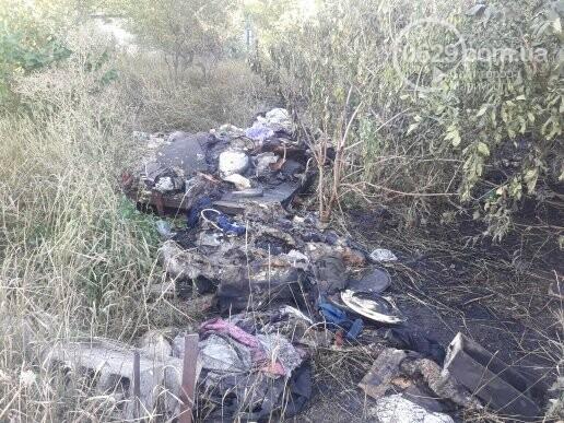 В Мариуполе сгорело 3 дачных участка, - ФОТОФАКТ, фото-6