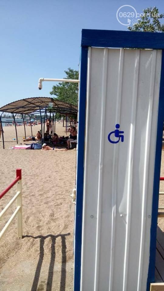 В Мариуполе удобства на пляже для  людей с инвалидностью  стали недоступными,- ФОТО , фото-5