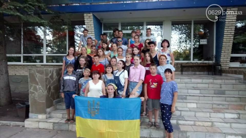 В Мариуполе набирает обороты челендж ко Дню флага и Дню независимости Украины, - ФОТО, фото-9