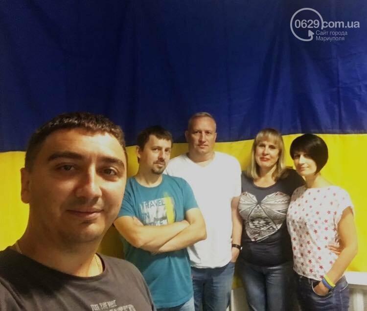 В Мариуполе набирает обороты челендж ко Дню флага и Дню независимости Украины, - ФОТО, фото-3