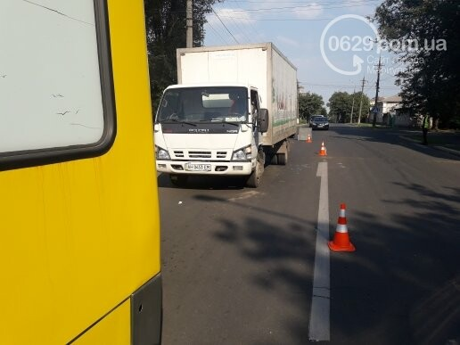 В Мариуполе грузовик врезался в автобус «Богдан», - ФОТО, ВИДЕО, фото-3