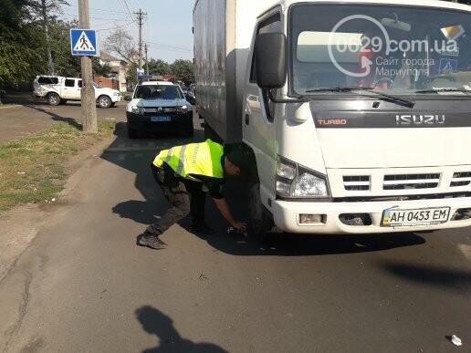 В Мариуполе грузовик врезался в автобус «Богдан», - ФОТО, ВИДЕО, фото-4