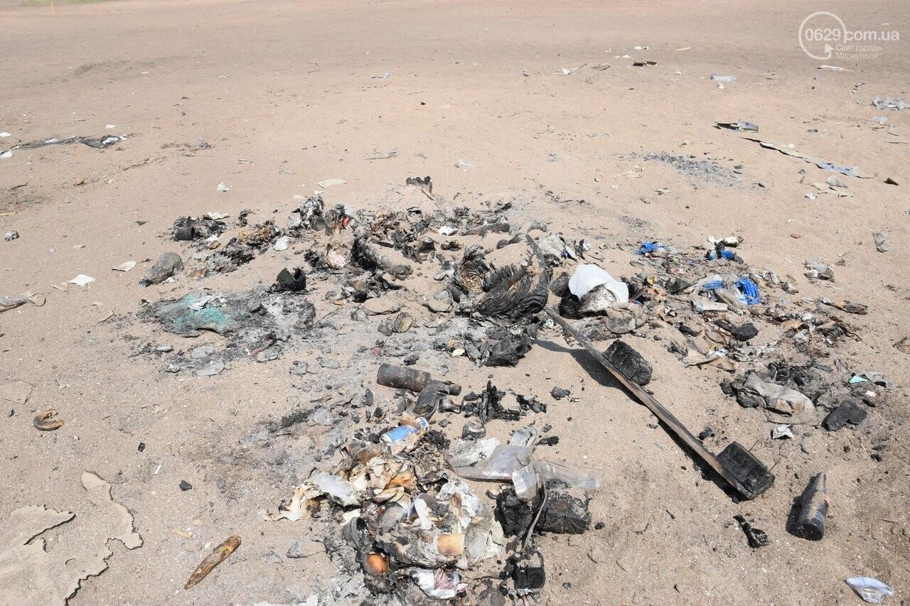Фестиваль завершился, а мусор остался. На Песчанке уже неделю не могут навести порядок, - ФОТО, ВИДЕО, фото-18