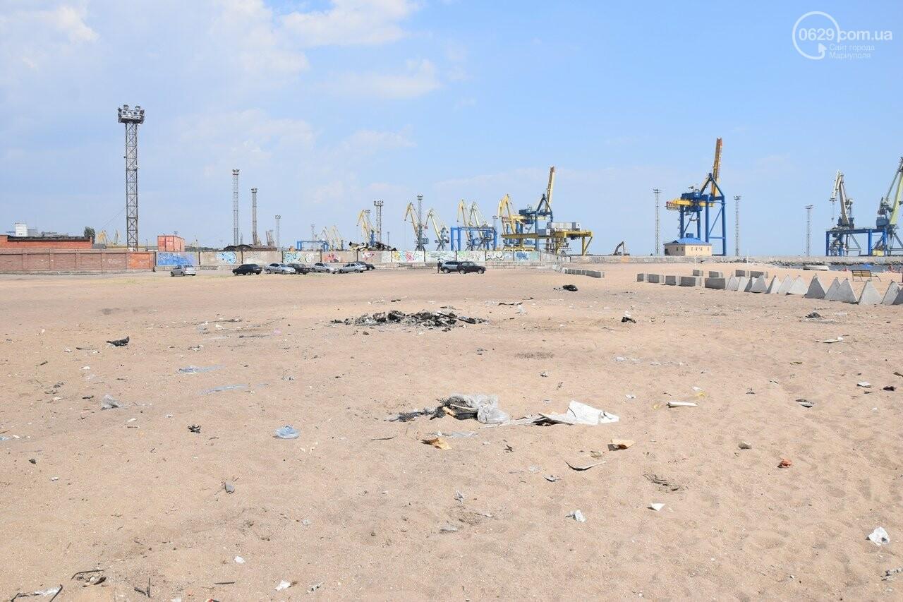 Фестиваль завершился, а мусор остался. На Песчанке уже неделю не могут навести порядок, - ФОТО, ВИДЕО, фото-7