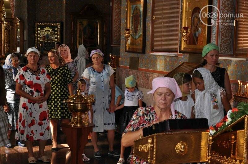 В Свято-Покровском храме села Боевое отметили первый, Медовый  Спас , фото-9