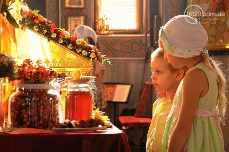 В Свято-Покровском храме села Боевое отметили первый, Медовый  Спас , фото-1