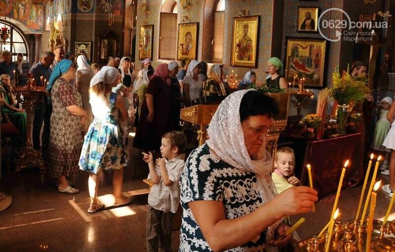 В Свято-Покровском храме села Боевое отметили первый, Медовый  Спас , фото-11