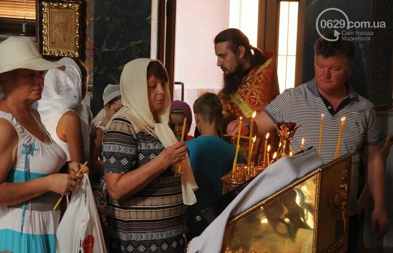 В Свято-Покровском храме села Боевое отметили первый, Медовый  Спас , фото-12