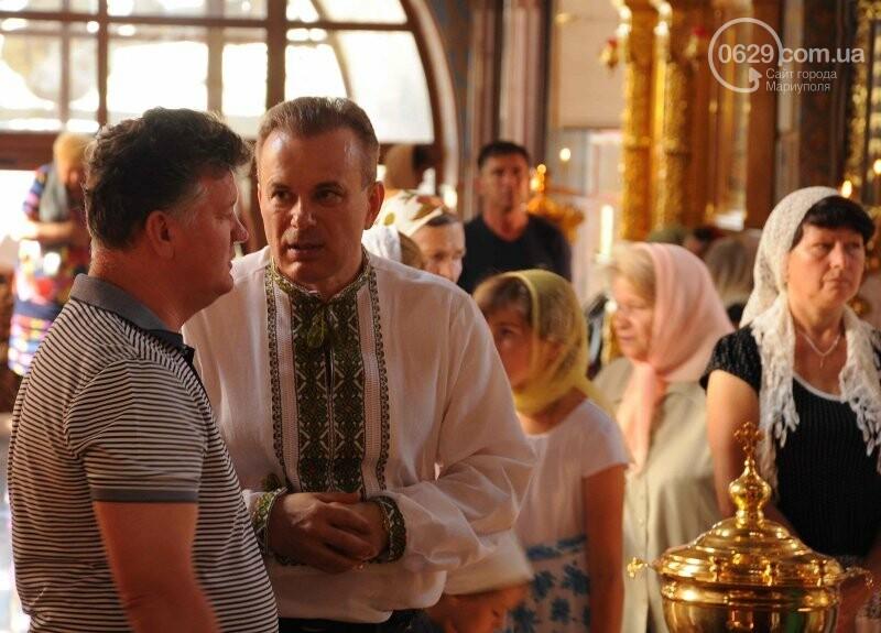 В Свято-Покровском храме села Боевое отметили первый, Медовый  Спас , фото-13