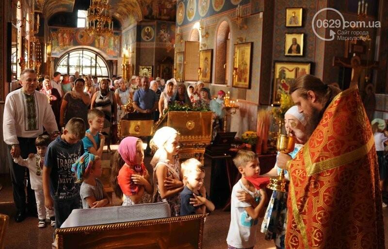 В Свято-Покровском храме села Боевое отметили первый, Медовый  Спас , фото-14