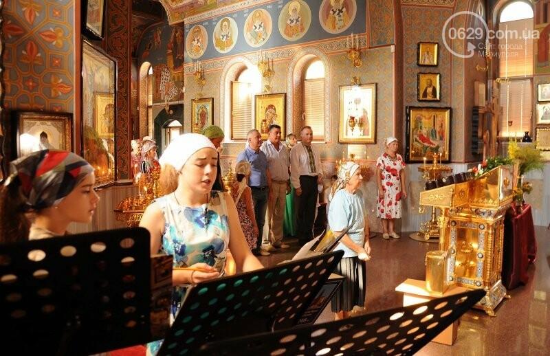В Свято-Покровском храме села Боевое отметили первый, Медовый  Спас , фото-15