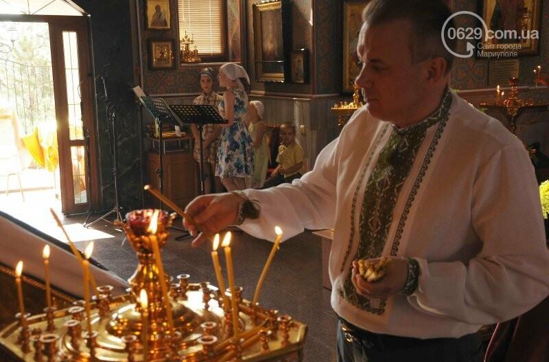 В Свято-Покровском храме села Боевое отметили первый, Медовый  Спас , фото-3