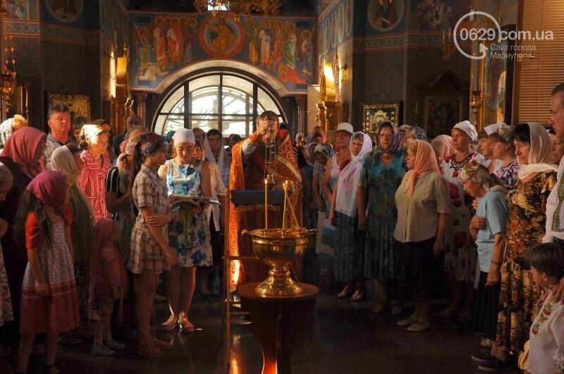 В Свято-Покровском храме села Боевое отметили первый, Медовый  Спас , фото-16