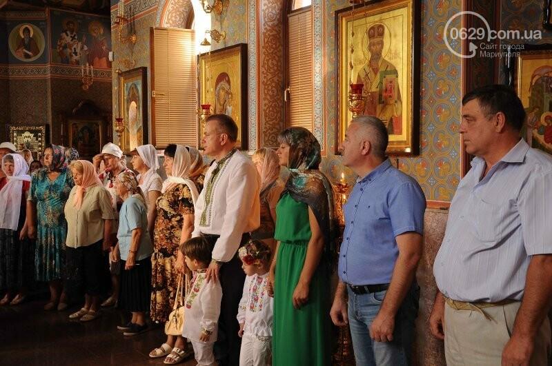 В Свято-Покровском храме села Боевое отметили первый, Медовый  Спас , фото-17