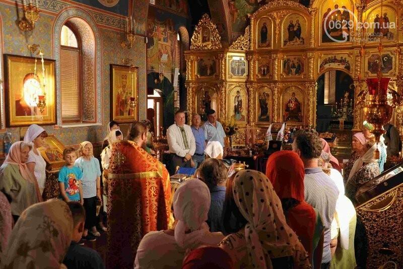В Свято-Покровском храме села Боевое отметили первый, Медовый  Спас , фото-19