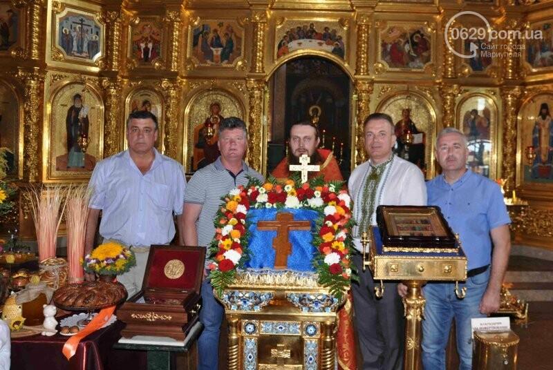 В Свято-Покровском храме села Боевое отметили первый, Медовый  Спас , фото-20