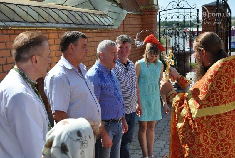 В Свято-Покровском храме села Боевое отметили первый, Медовый  Спас , фото-22
