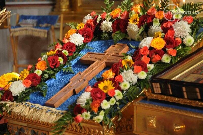 В Свято-Покровском храме села Боевое отметили первый, Медовый  Спас , фото-5