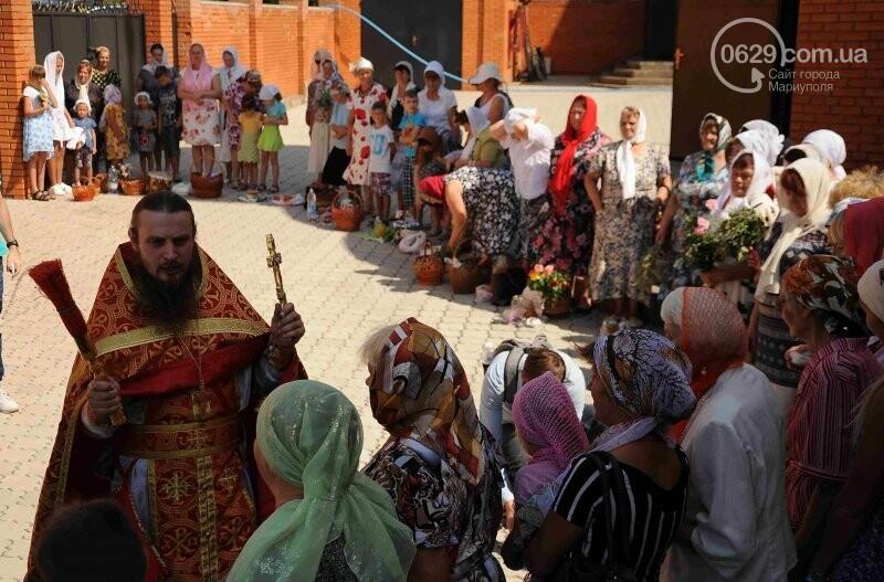 В Свято-Покровском храме села Боевое отметили первый, Медовый  Спас , фото-23