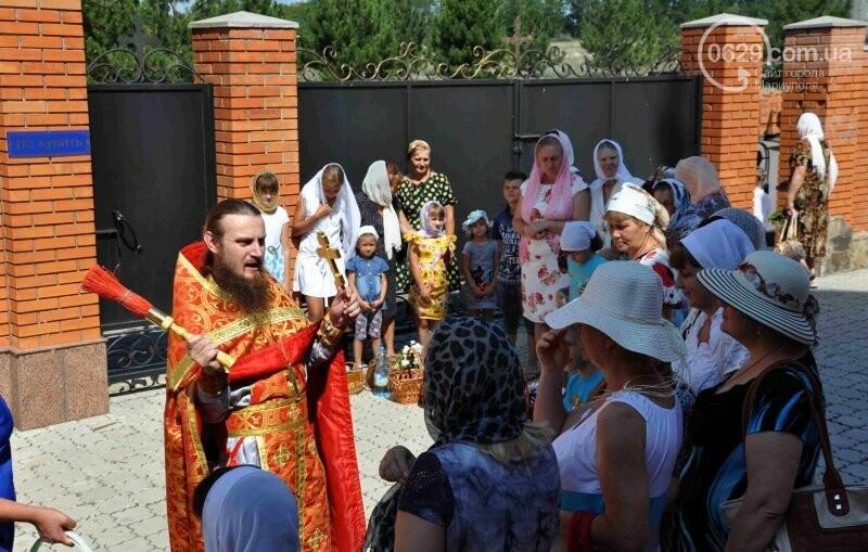 В Свято-Покровском храме села Боевое отметили первый, Медовый  Спас , фото-24