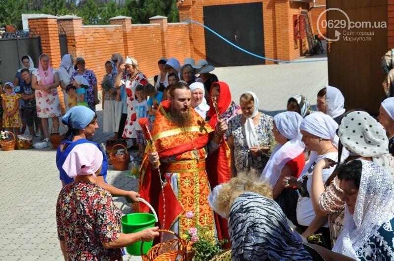 В Свято-Покровском храме села Боевое отметили первый, Медовый  Спас , фото-26