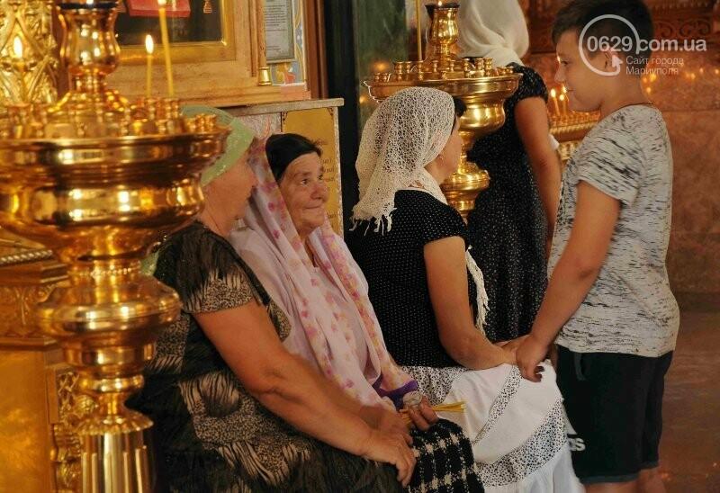 В Свято-Покровском храме села Боевое отметили первый, Медовый  Спас , фото-8