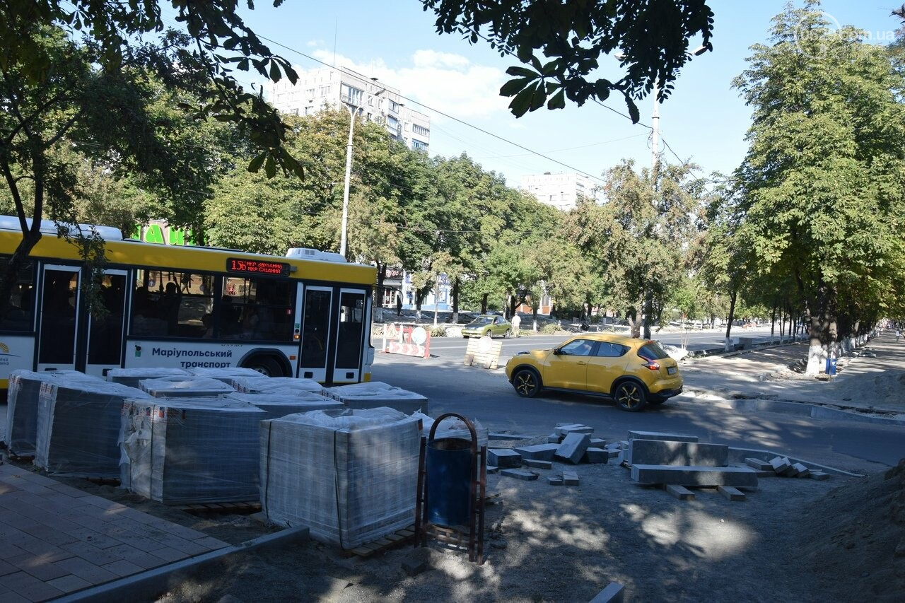 В Мариуполе вновь перекрыли пр. Мира. Маршрутки ездят хаотично, - ФОТО, ВИДЕО, фото-9