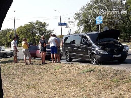 В Мариуполе не разминулись микроавтобус Mercedes и Daewoo, - ФОТО, фото-6