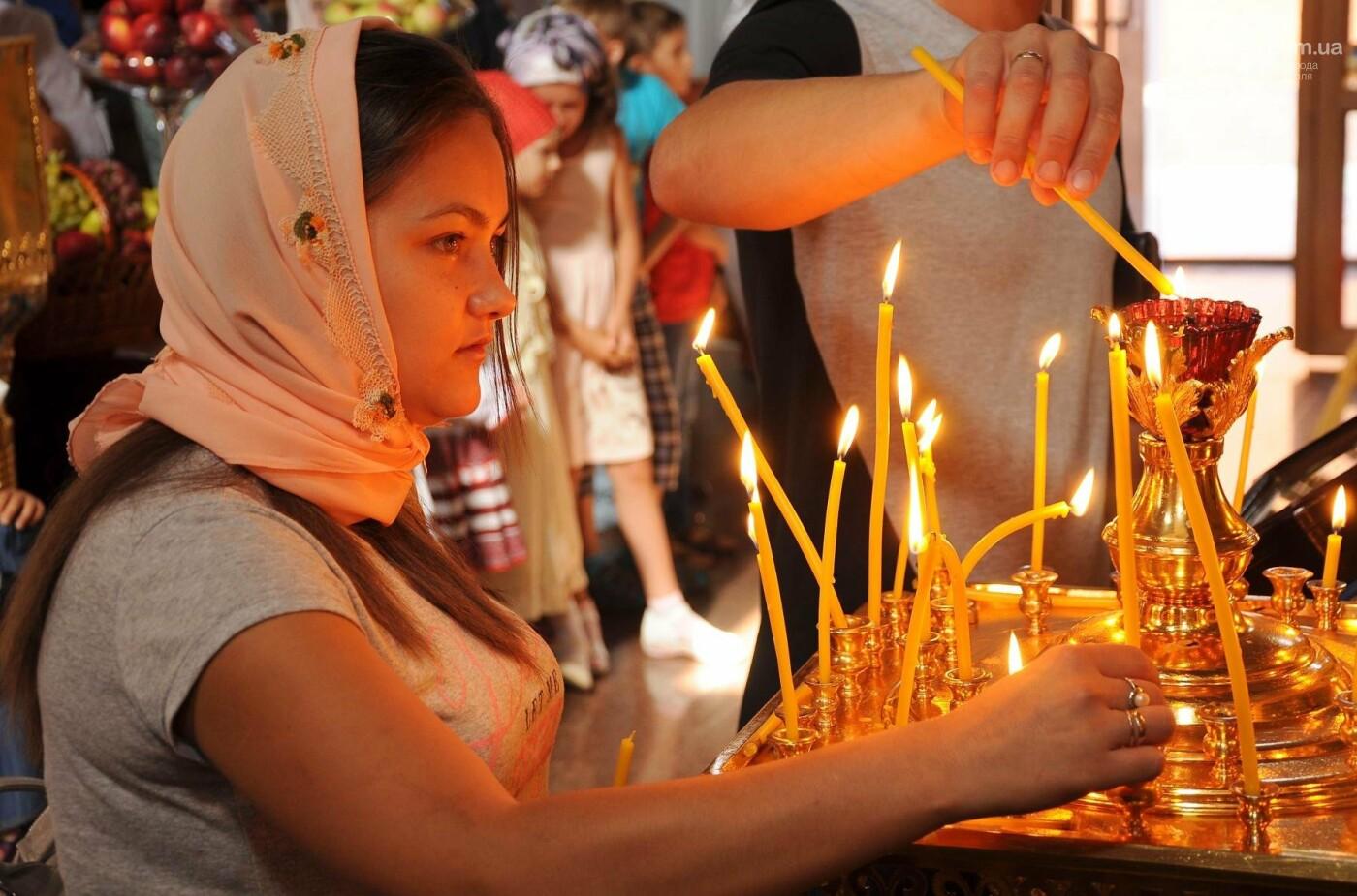 Как отметили праздник Преображения Господня, Яблочный Спас  в Свято-Покровском храме с.Боевое, фото-16
