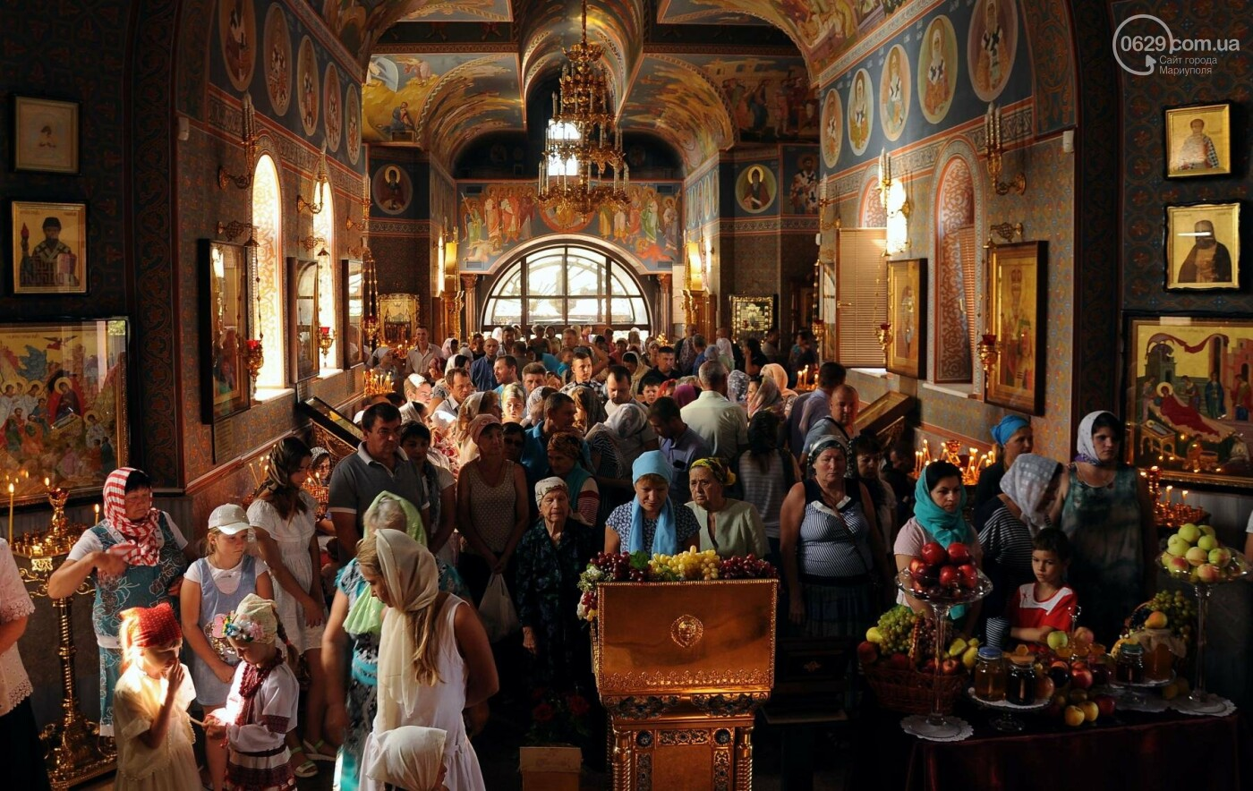 Как отметили праздник Преображения Господня, Яблочный Спас  в Свято-Покровском храме с.Боевое, фото-4