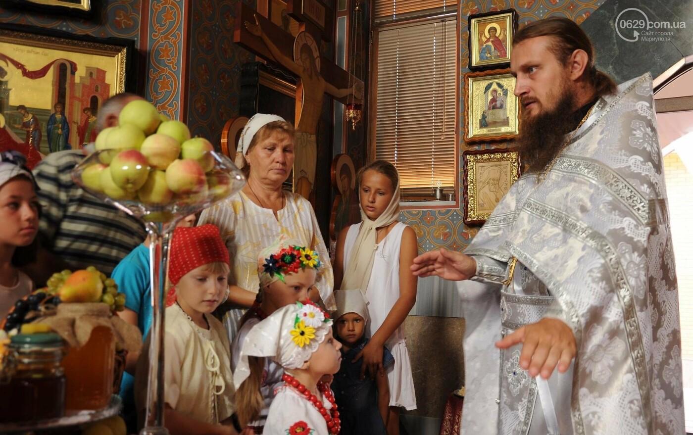 Как отметили праздник Преображения Господня, Яблочный Спас  в Свято-Покровском храме с.Боевое, фото-9