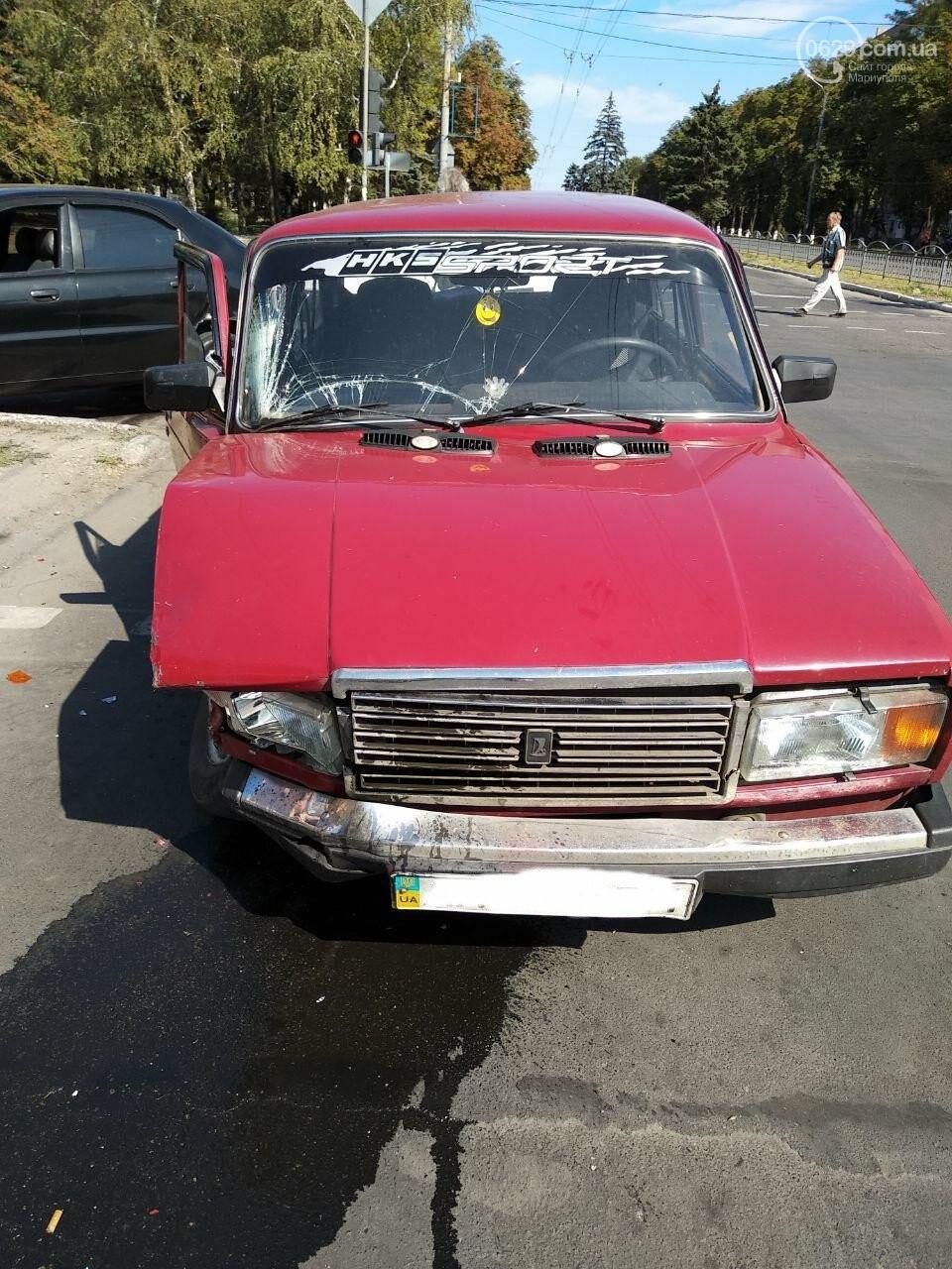 В Мариуполе в ДТП пострадала женщина, - ФОТО, фото-2