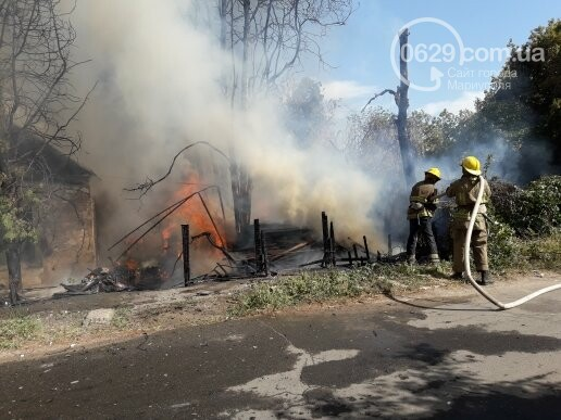 В Мариуполе тушат масштабный пожар, - ВИДЕО, ФОТО, фото-5