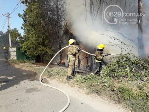 В Мариуполе тушат масштабный пожар, - ВИДЕО, ФОТО, фото-6