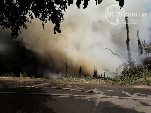 В Мариуполе тушат масштабный пожар, - ВИДЕО, ФОТО, фото-1
