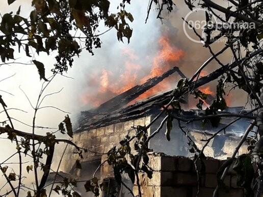 В Мариуполе тушат масштабный пожар, - ВИДЕО, ФОТО, фото-8