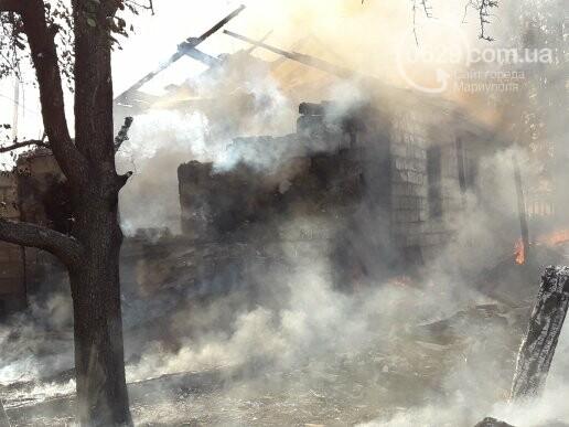 В Мариуполе тушат масштабный пожар, - ВИДЕО, ФОТО, фото-2