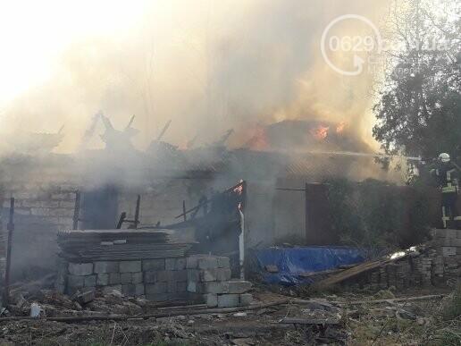 В Мариуполе тушат масштабный пожар, - ВИДЕО, ФОТО, фото-3