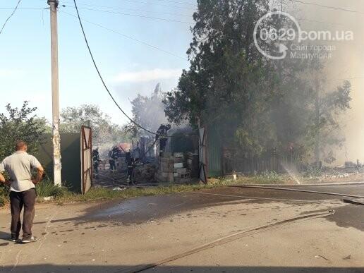 В Мариуполе тушат масштабный пожар, - ВИДЕО, ФОТО, фото-4