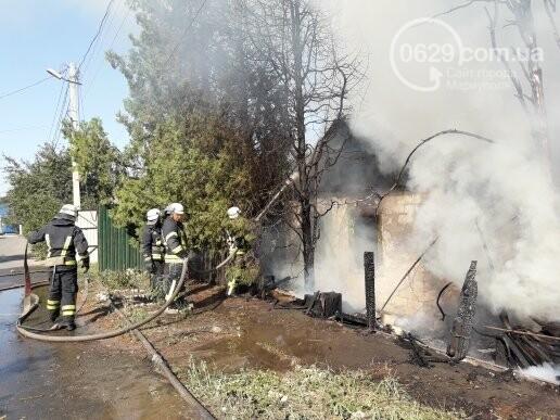 В Мариуполе тушат масштабный пожар, - ВИДЕО, ФОТО, фото-10