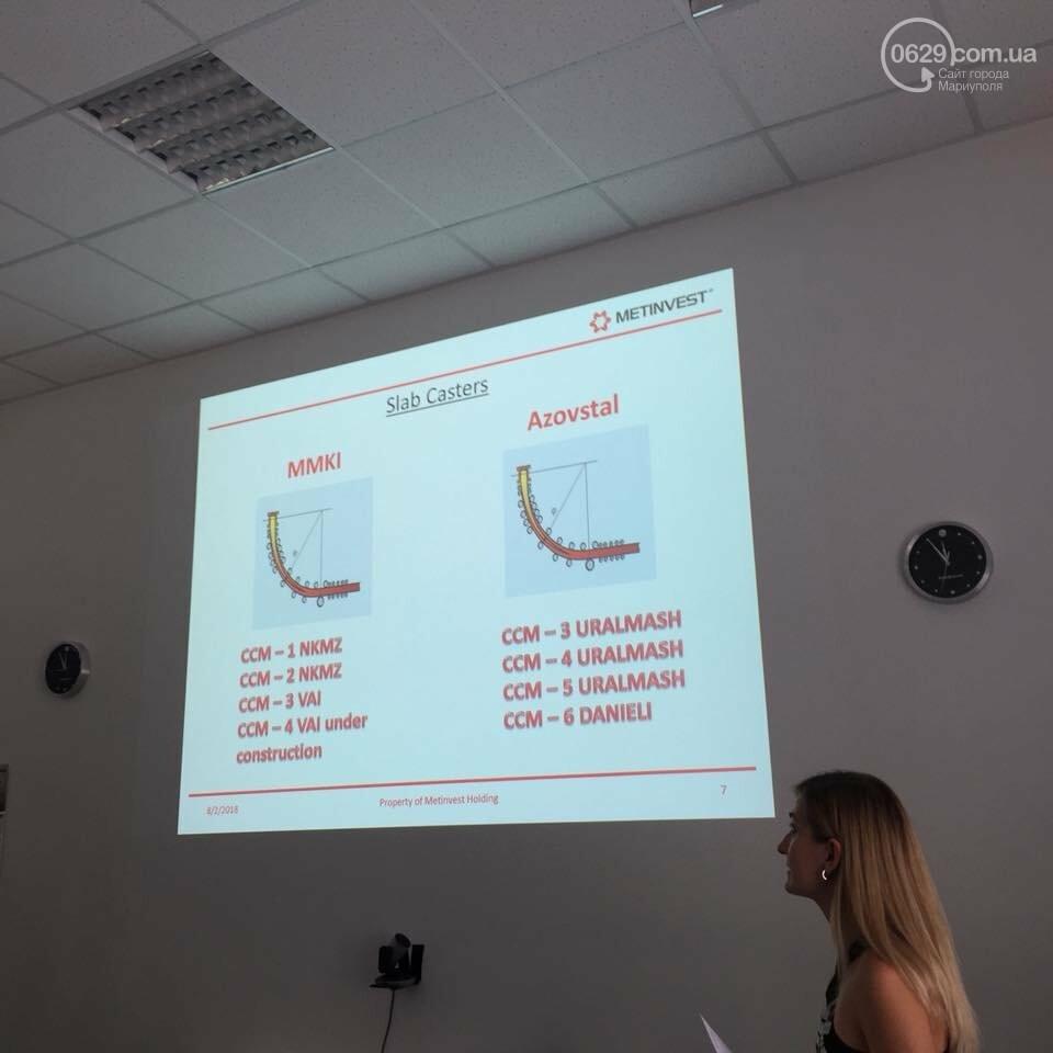 Мариупольское подразделение немецкой компании SMS group провело День Клиента для зарубежных партнеров, фото-1