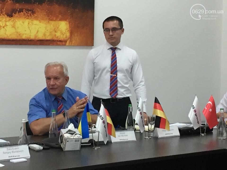 Мариупольское подразделение немецкой компании SMS group провело День Клиента для зарубежных партнеров, фото-2
