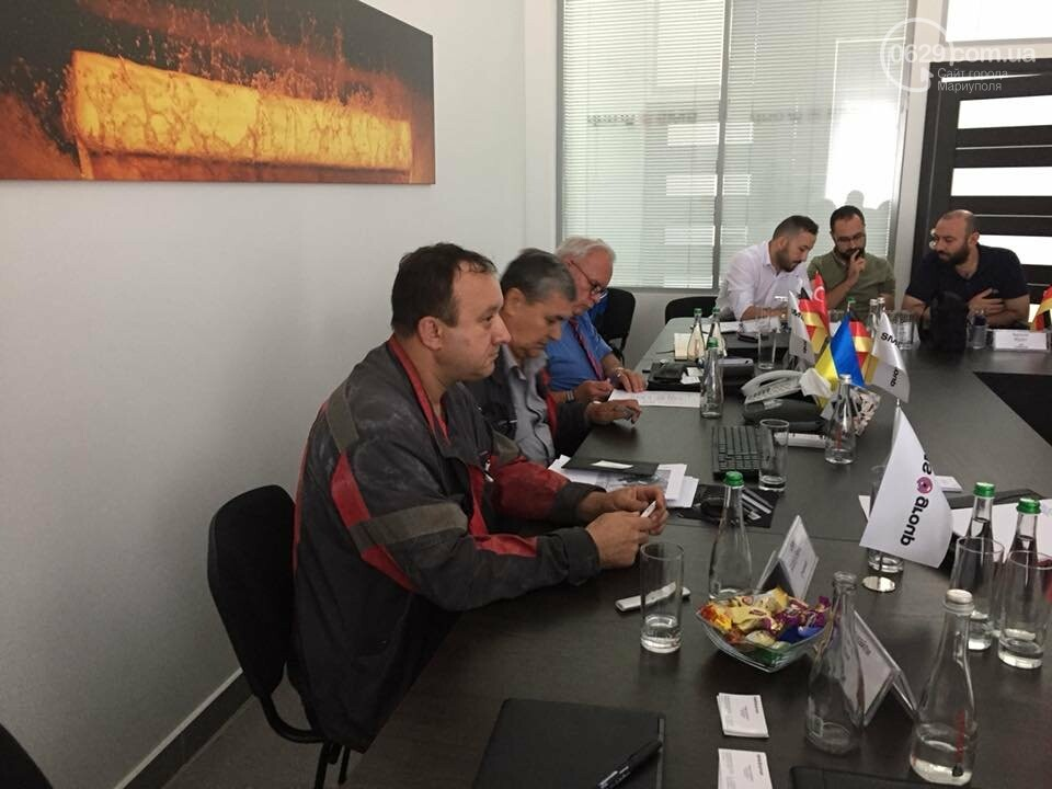 Мариупольское подразделение немецкой компании SMS group провело День Клиента для зарубежных партнеров, фото-3