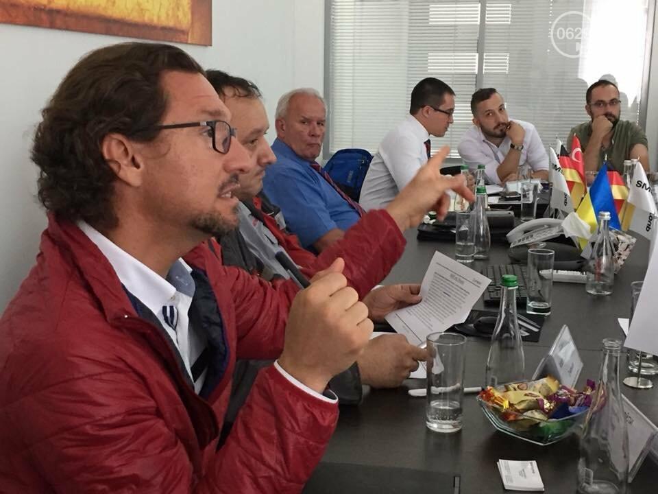 Мариупольское подразделение немецкой компании SMS group провело День Клиента для зарубежных партнеров, фото-4